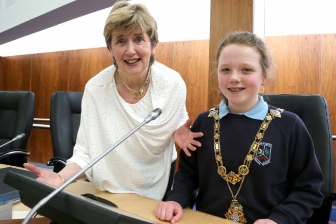 Primary School pupils enjoy a visit to Cloonavin