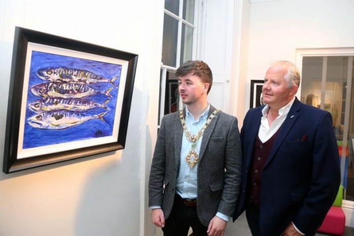Coleraine Art Society's annual exhibition opens at Flowerfield Arts Centre