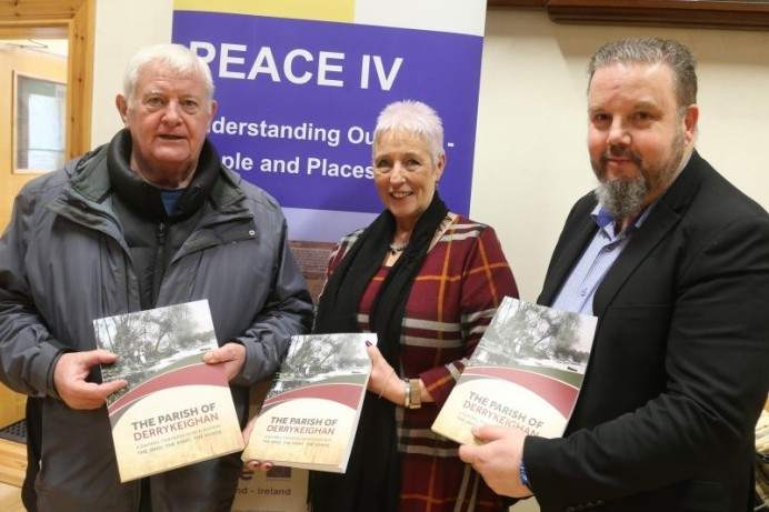 Dervock & District Community Association celebrate launch of new Peace IV funded book