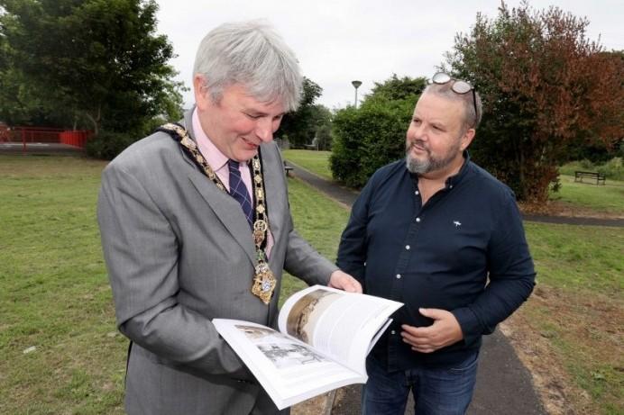 Mayor praises Dervock community during village walkabout