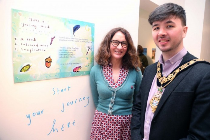 Dreamer's Space officially unveiled at Flowerfield Arts Centre