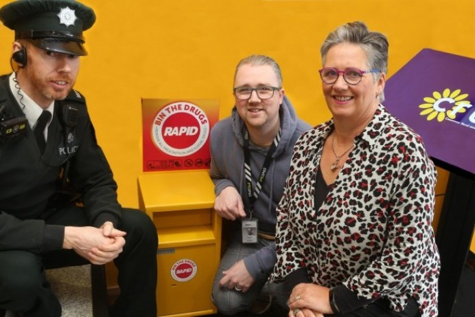 RAPID bins installed in Coleraine and Limavady as part of the fight against drugs