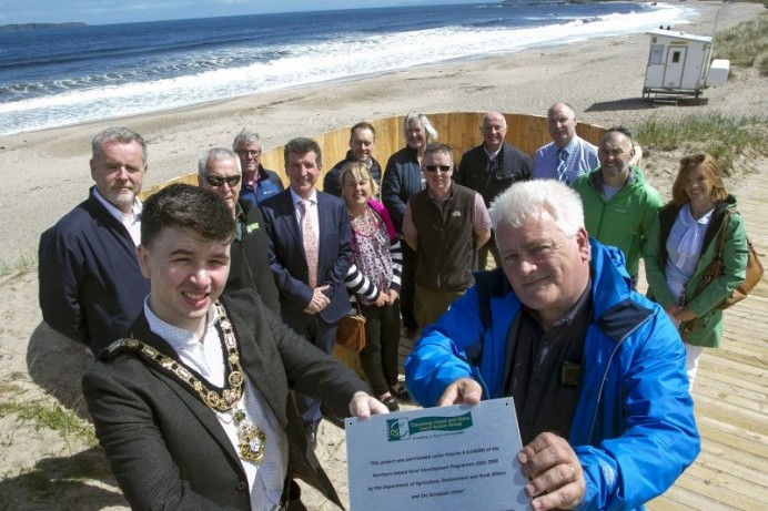 Completion of Coastal and Dune Management Project