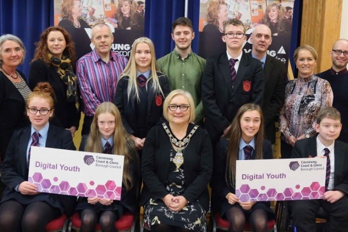Digital Youth Programme launched at Dunluce School
