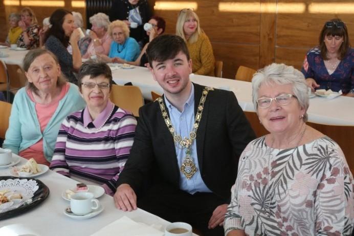 Civic reception held to celebrate Ballymoney Evergreen Club
