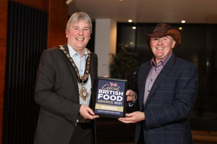 Civic reception held for award winning local producers