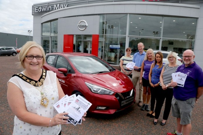 Register now for 'Edwin May Nissan Five Mile Classic'
