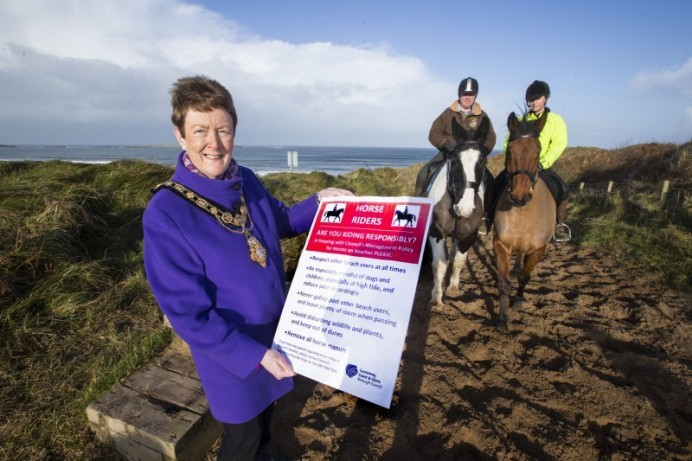 Causeway Coast and Glens Borough Council issue beach safety message to horse owners