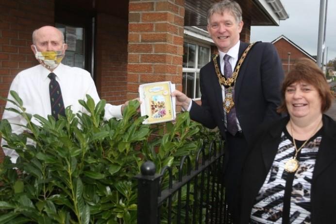 Mayor visits Coleraine veteran to mark his 102nd birthday