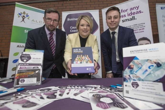 Enterprise Week proves a success across the Causeway Coast and Glens