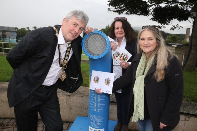 Poetry Jukebox brings a new sound to Ballycastle seafront