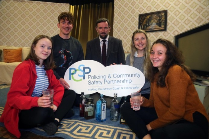 Causeway Coast and Glens PCSP calls 'Last Orders' with educational theatre performance