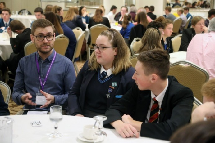Let's Talk event brings elected members and school pupils together