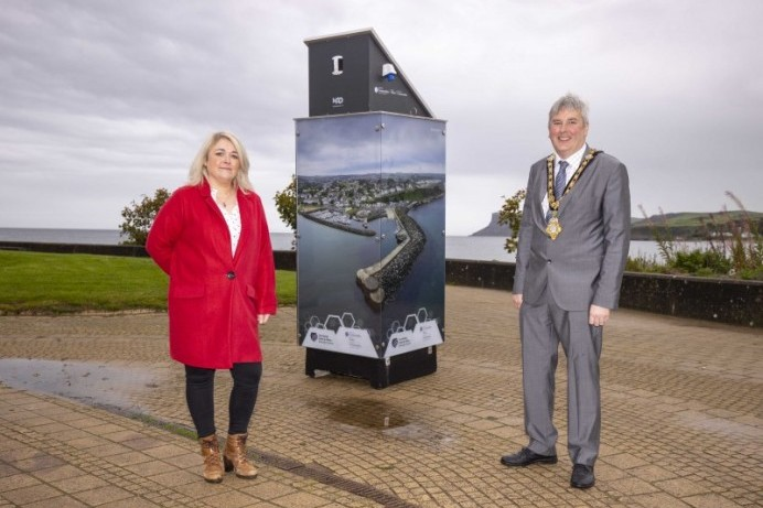 Brighter times ahead with Causeway Coast and Glens Borough Council's new light box exhibits