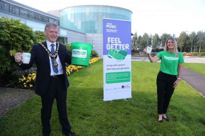 Mayor pledges to 'move 5k on the day' for Macmillan Cancer Support