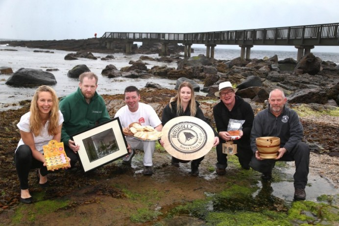 Artisan Market traders set out their stall at the Auld Lammas Fair