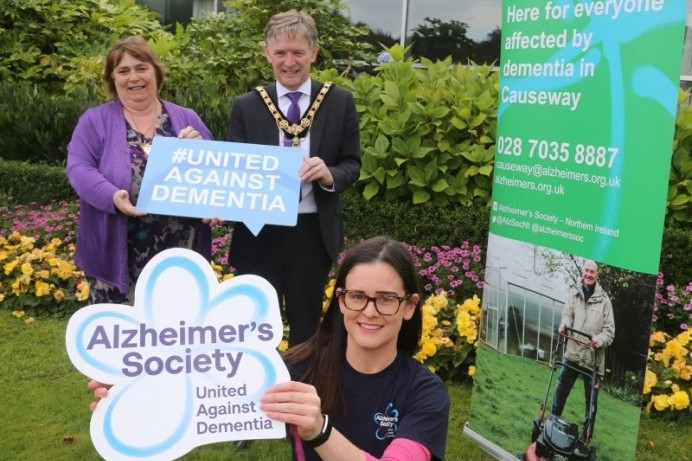 Alzheimer's Society selected as Alderman Mark Fielding's official Mayor's charity