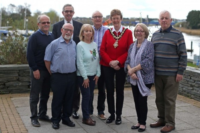 Mayor hosts Civic Reception for Housing Executive Retirement Association