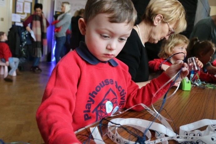 Children enjoy Playful Museums Festival at Ballymoney Town Hall
