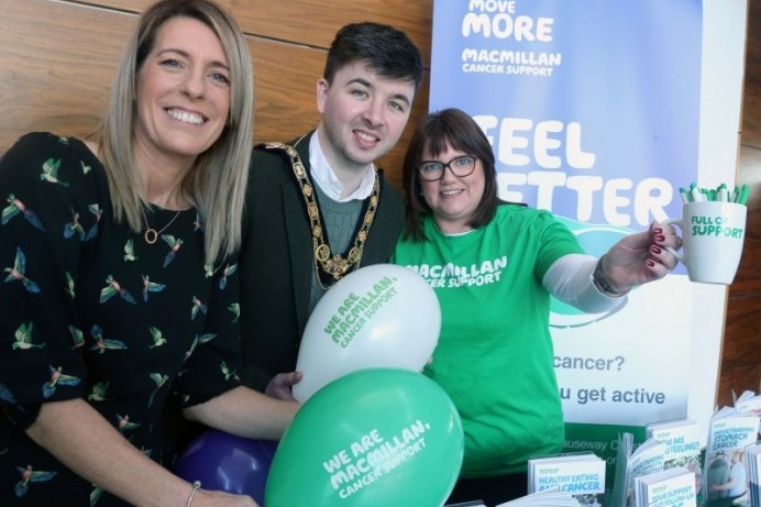 Macmillan & Causeway Coast and Glens celebrate official launch of Move More programme