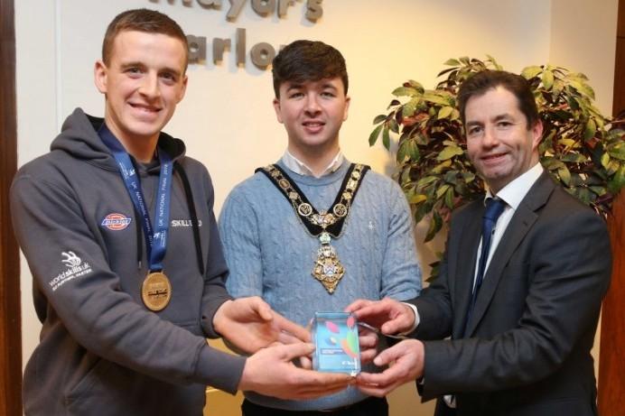 Reception celebrates local apprentices' success