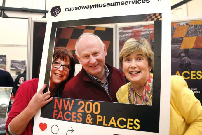 NW 200 Faces & Places exhibition opens in Ballymoney Museum.