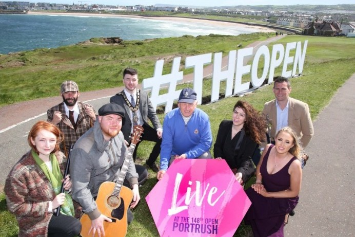 Golf spectators tee up to enjoy 'Live at The 148th Open'