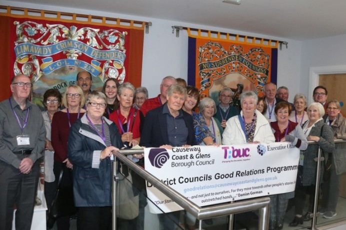 Visit to Limavady Orange Heritage Centre marks Good Relations Week