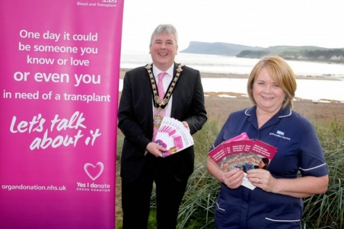 Causeway Coast and Glens Borough Council supports Organ Donation Week
