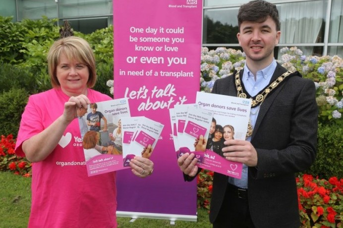 Mayor voices support for Organ Donation Week