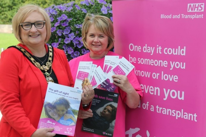 Cloonavin goes pink for Organ Donation Week