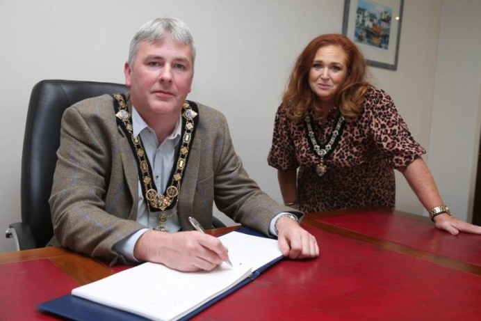 Mayor of Causeway Coast and Glens Borough Council to open Book of Condolence for Pat Hume