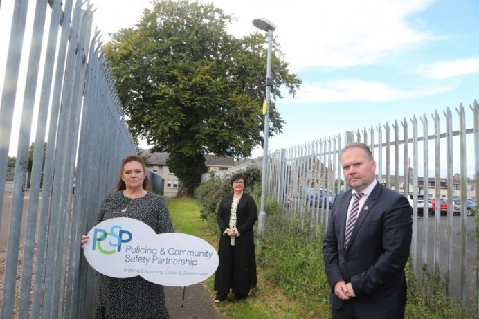 Cameras installed in Limavady as Causeway Coast and Glens PCSP address schools' ongoing vandalism concerns