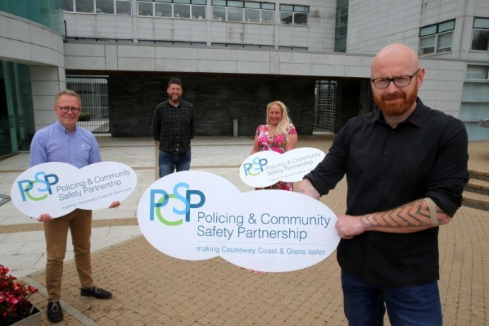 New PCSP Chairperson launches latest round of community grant funding