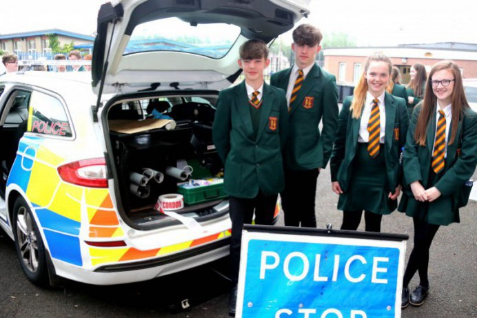 PCSP event for young people in Limavady