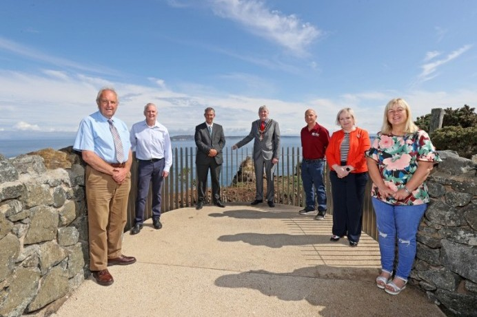 Causeway Coast and Glens Local Action Group marks completion of signature project at Portaneevy