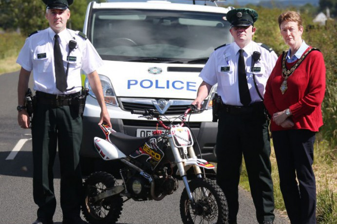 Council reinforcing its message on illegal scrambler use