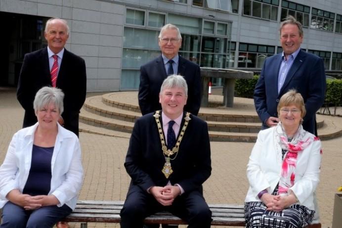 Mayor's reception for Queen's Birthday Honour's recipients