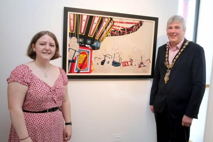 Belfast School of Art graduates' exhibition set to open in Limavady