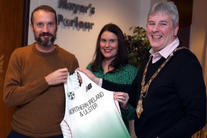 Civic reception for Commonwealth Games medal winner