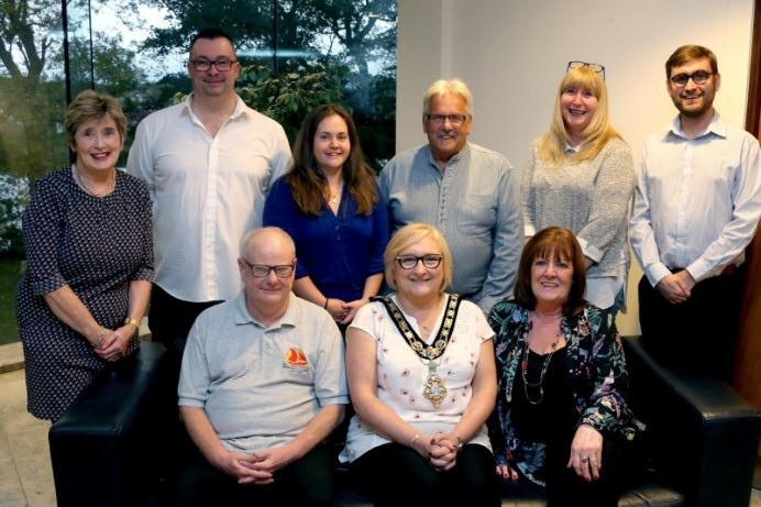 Civic Reception for Red Sails Festival Committee Members