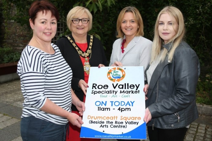 Roe Valley Speciality Market returns to Limavady