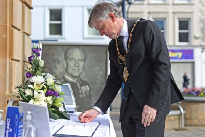 Book of Condolence opened in memory of His Royal Highness Prince Philip Duke of Edinburgh