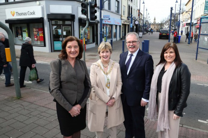 Coleraine celebrates Revitalise investment