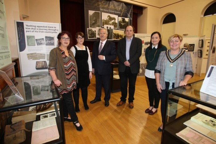 New Sam Henry exhibition opens at Coleraine Museum.