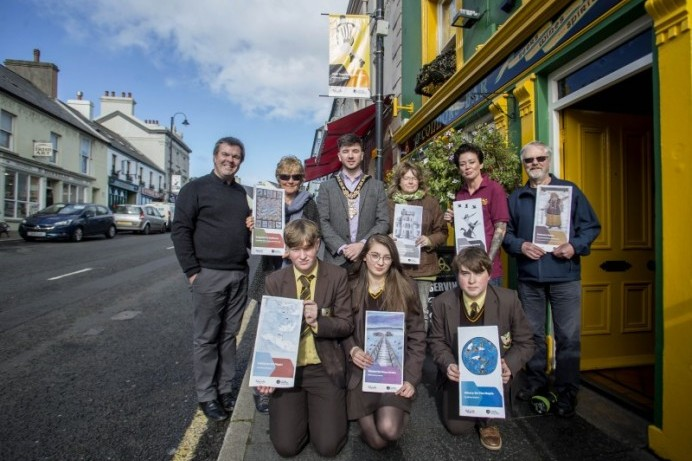 New street banner signs bring added colour to Ballycastle