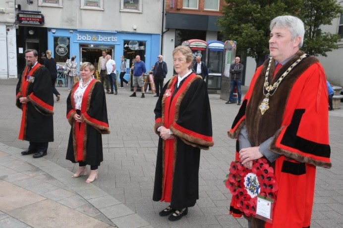 Battle of the Somme commemoration held in Coleraine
