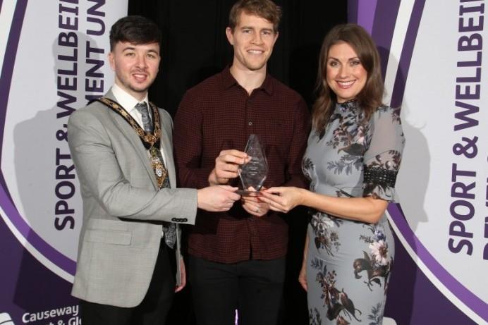 Sporting stars celebrated at Causeway Coast and Glens Borough Council Gala Awards