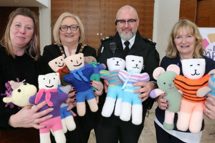 Civic reception recognises Trauma Teddy knitters