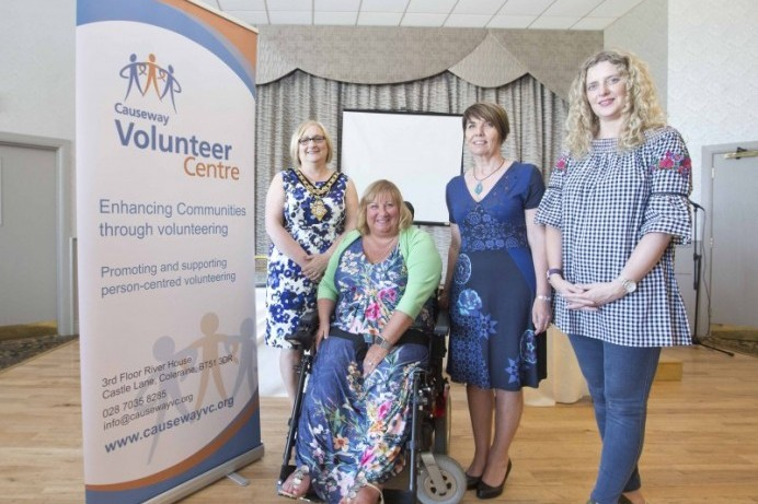 Celebrating volunteers across the Causeway Coast and Glens